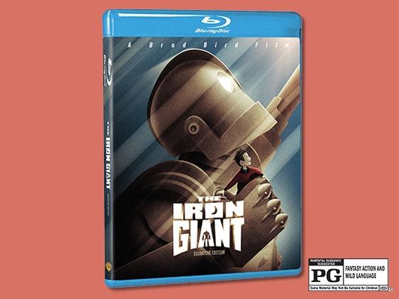 Iron giant giveaway