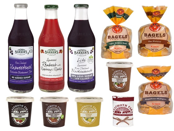 Abe's Bagels, Anathoth Farm and Barker's of Geraldine Food Hamper sweepstakes