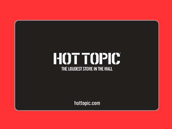 Hot topic giveaway