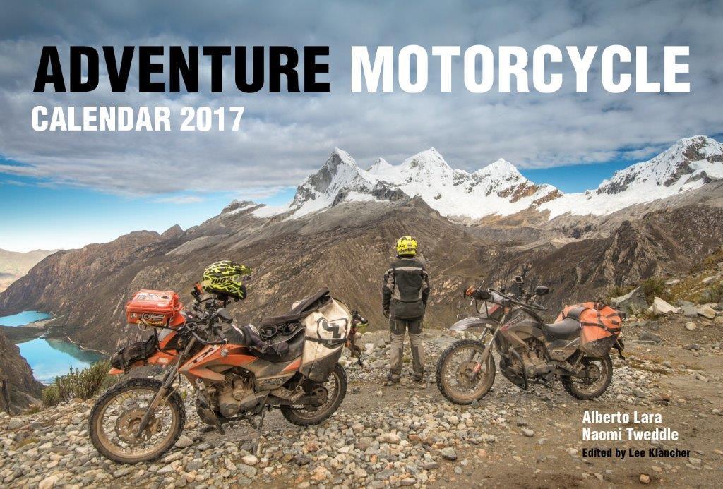 Adventure Motorcycle Calendar sweepstakes