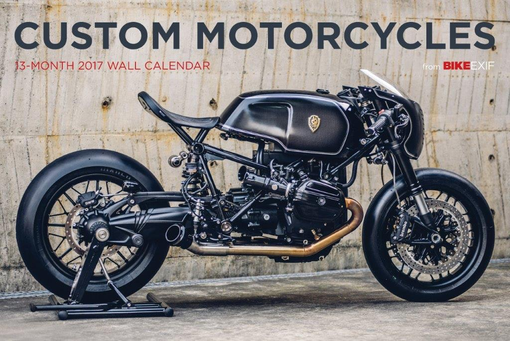 Bike EXIF Custom Motorcycle Calendar 2017 sweepstakes