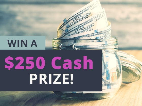 250 Cash Prize September sweepstakes