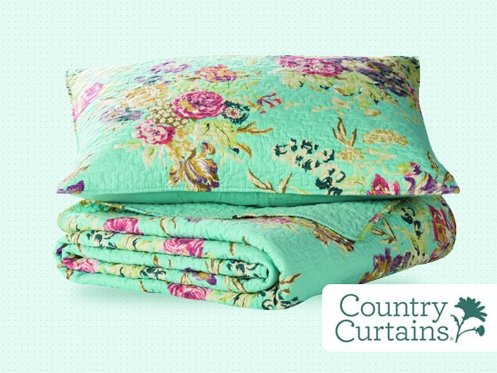 Lorelei Quilt Set from Country Curtains sweepstakes