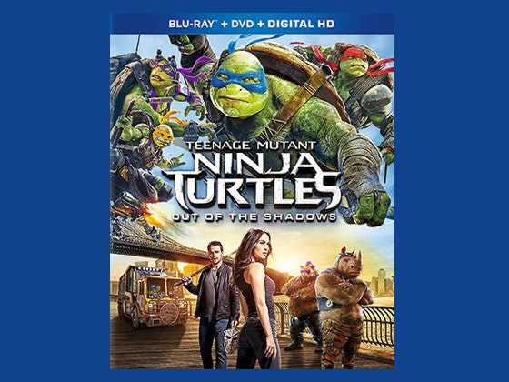Teenage Mutant Ninja Turtles: Out of the Shadows DVD sweepstakes