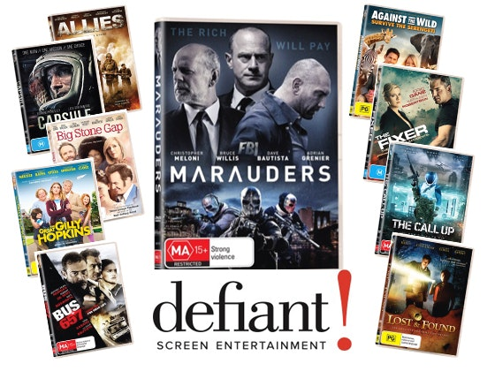 Marauders DVD Prize Pack sweepstakes
