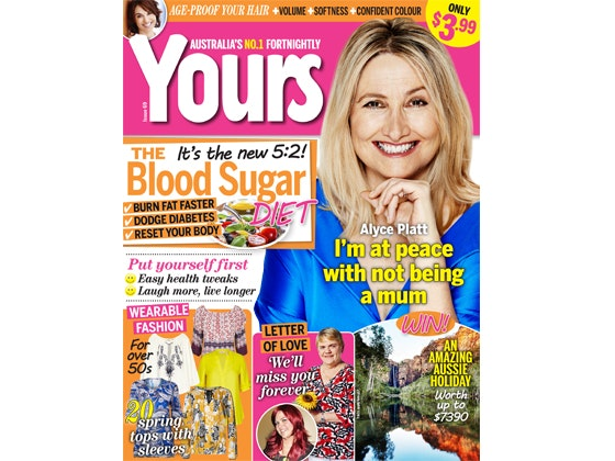 Yours Magazine Subscription sweepstakes