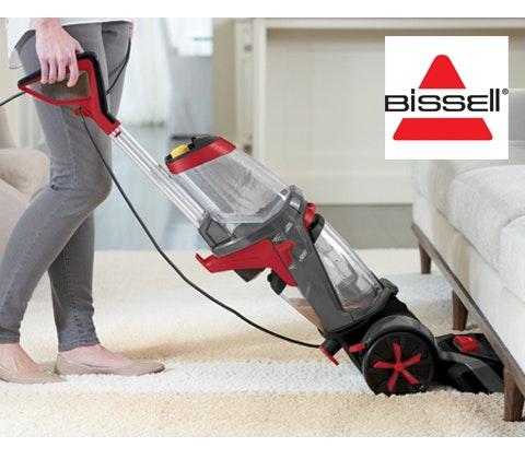 a BISSELL Revolution carpet cleaner & goodies sweepstakes