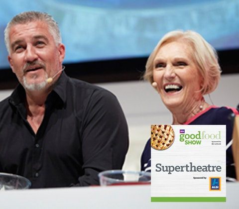 an Aldi hamper & tickets to the BBC Good Food Show sweepstakes