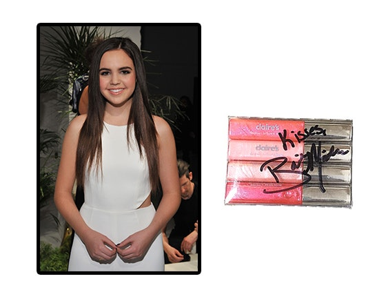 Bailee Madison Signed Lipgloss sweepstakes
