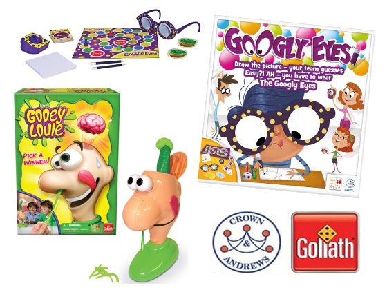 Crown & Andrews Board Game Prize - Googly Eyes and Gooey Louie sweepstakes