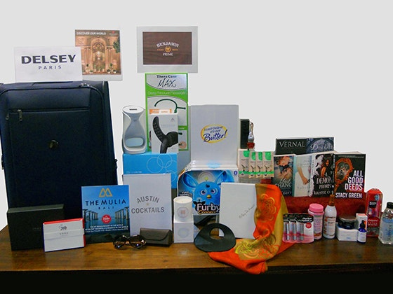 2016 Emmy Awards Giving Suite Gift Bag sweepstakes