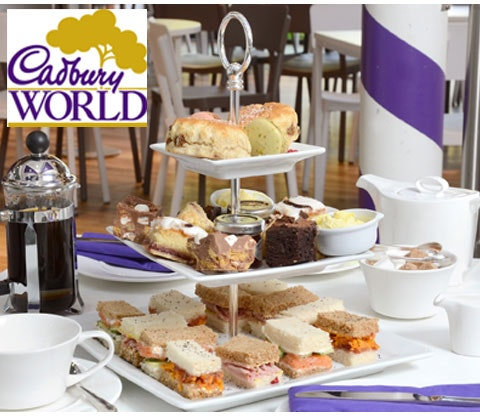 Afternoon Tea & hamper at Cadbury World sweepstakes