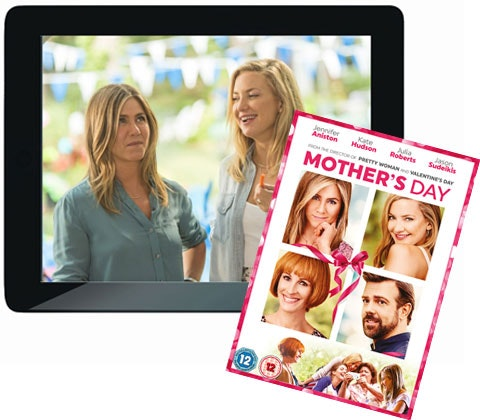 a Mother's Day DVD & Apple iPad Air sweepstakes