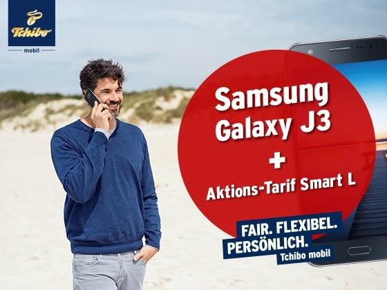 Samsung Galaxy J3 von Tchibo Gewinnspiel