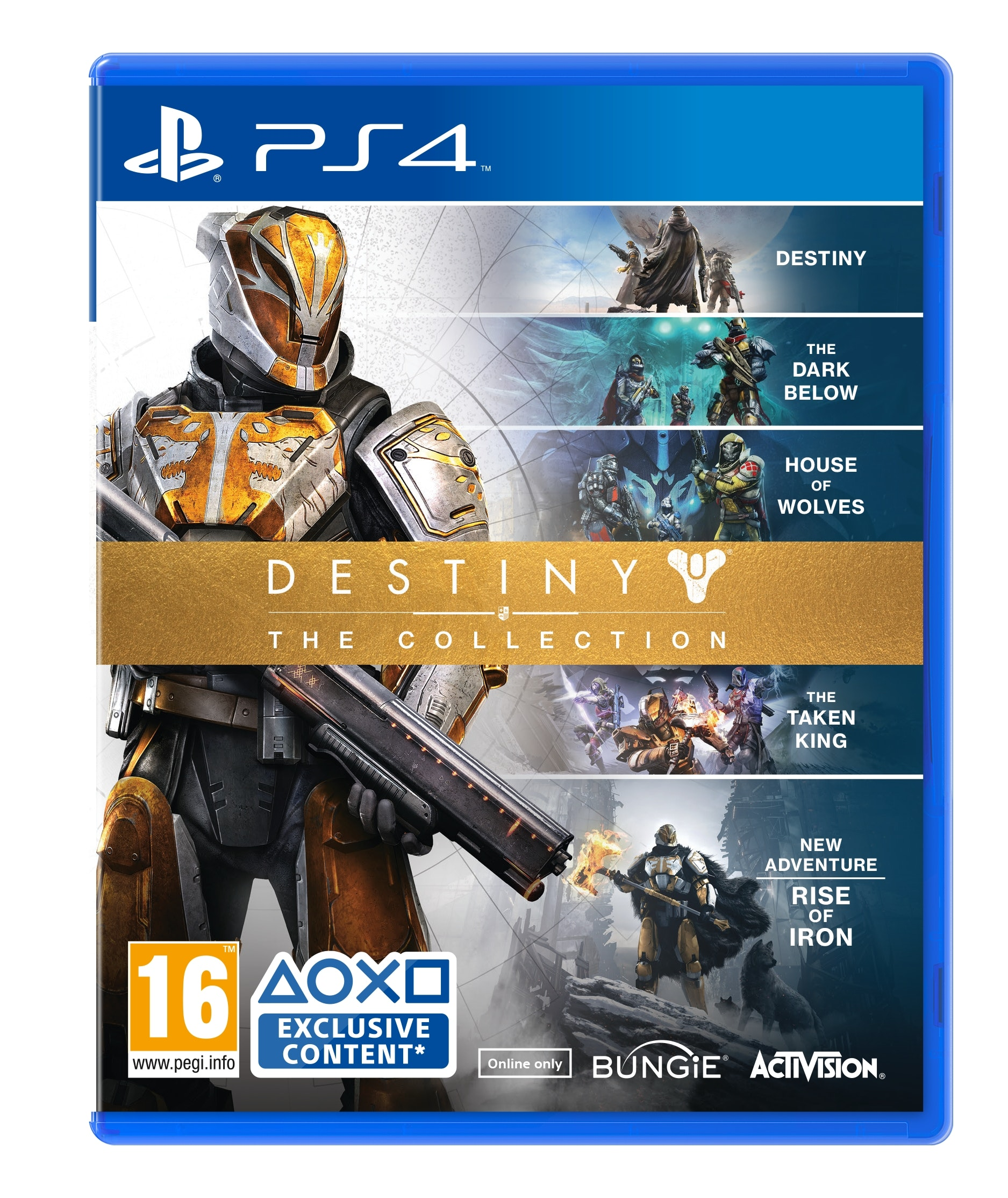 Destiny – The Collection for the PS4 sweepstakes