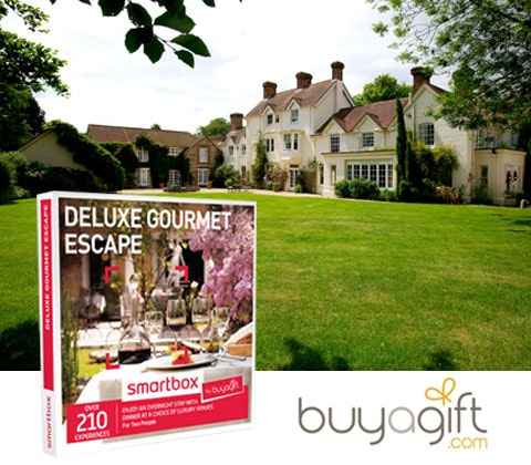 a Deluxe Gourmet Escape - Smartbox by Buyagift sweepstakes