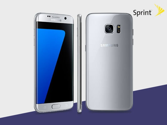 Samsung Galaxy S7 Edge Smartphone from Sprint sweepstakes