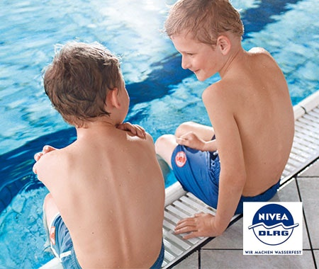 Lerne schwimmen mit NIVEA & DLRG Gewinnspiel