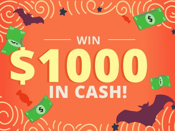 $1000 Cash October sweepstakes