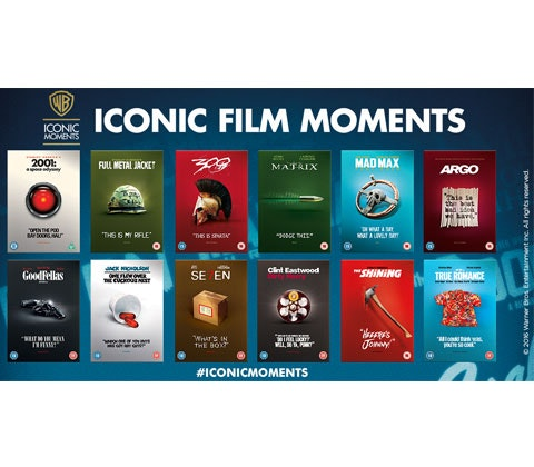 Warner Bros.'Iconic Moments' collection sweepstakes