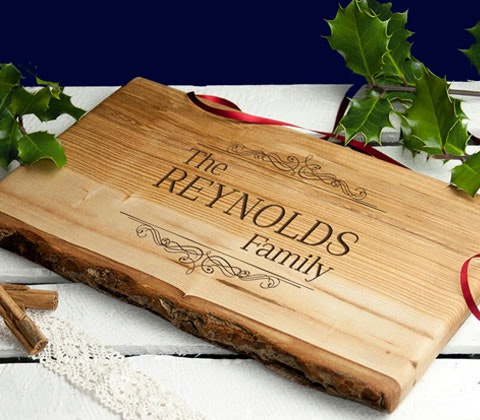 personalised chopping board sweepstakes