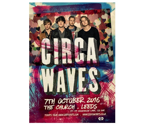 tickets to Circa Waves opening night in Leeds  sweepstakes