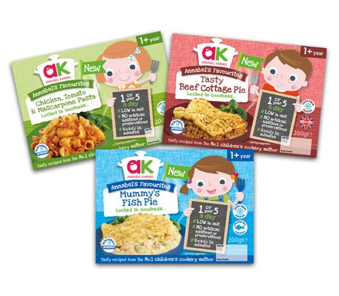 a week's worth of new Annabel Karmel frozen toddler meals sweepstakes