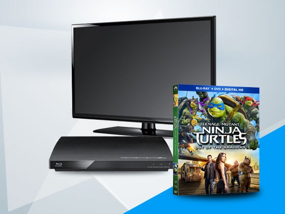 TMNT2 on Blu-ray Combo Pack + TV and Bluray Player sweepstakes