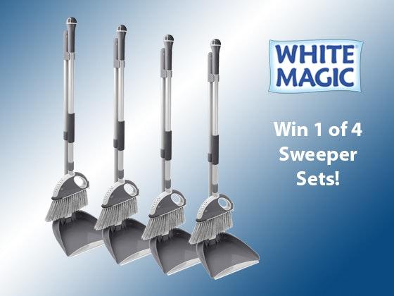 White Magic Sweeper Set sweepstakes