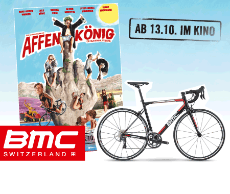 Gewinne eine Rennrad von BMC Gewinnspiel