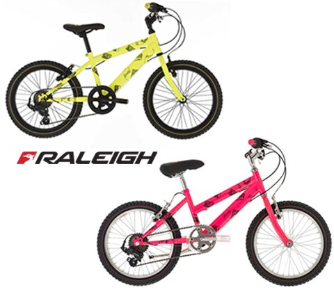 a Raleigh Beatz bike sweepstakes