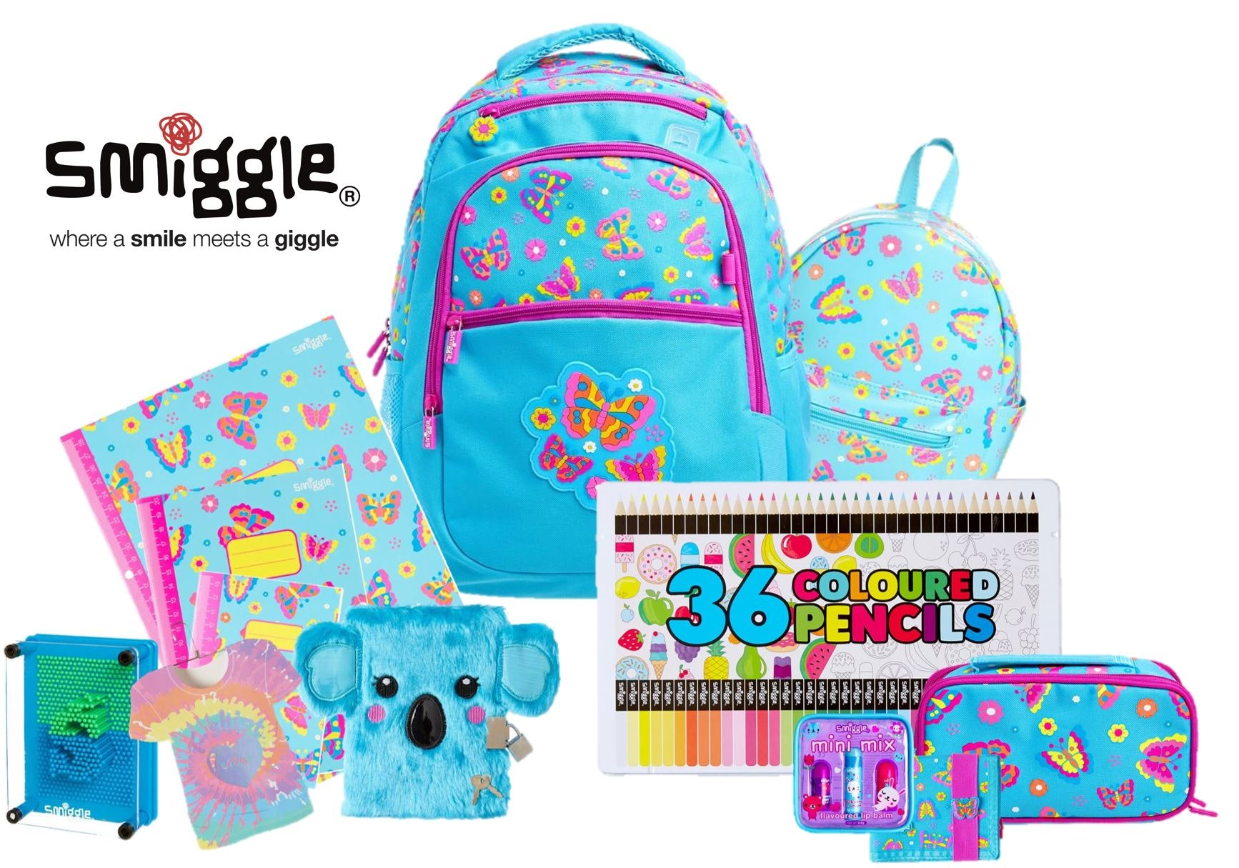 Smiggle Stationery Pack sweepstakes