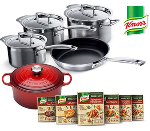 a Luxury kitchen set with Knorr Naturally Tasty sweepstakes