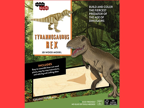 T-Rex Wood Model sweepstakes
