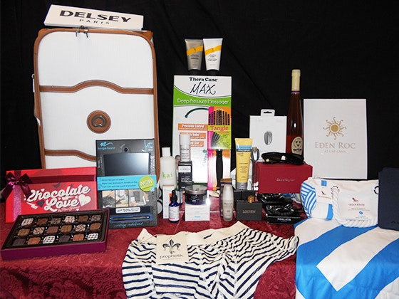 Gift Bag from the 2016 American Cinematheque Awards sweepstakes
