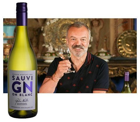 a case of Graham Norton's Own SauviGNon Blanc wine  sweepstakes