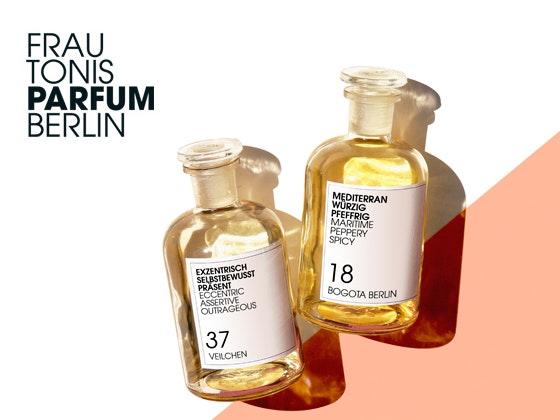Duftreise mit Frau Tonis Parfum  Gewinnspiel