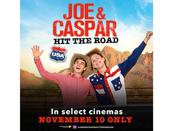 Joe Sugg & Caspar Lee Tour Tickets sweepstakes