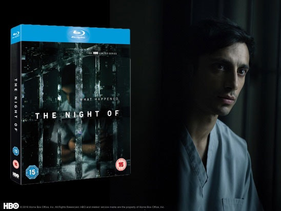 THE NIGHT OF Blu-ray! sweepstakes