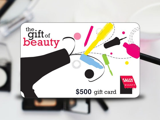 $500 Sally Beauty Gift Card sweepstakes