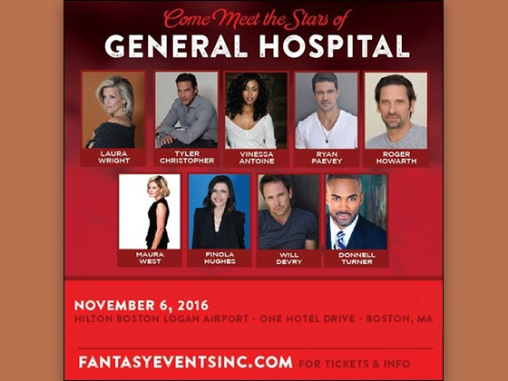 VIP Soap Opera Package for Boston sweepstakes