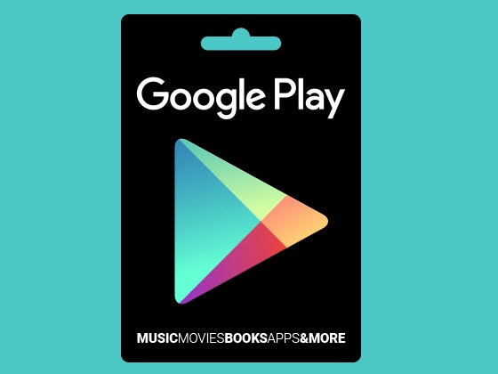 Google Play Gift Card sweepstakes