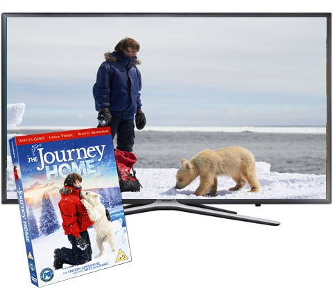 a HD Smart LED TV & The Journey Home DVD sweepstakes