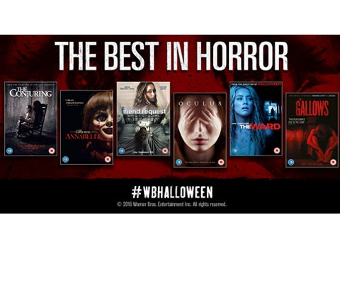 Horror DVD's sweepstakes