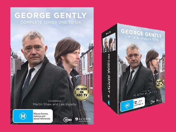 George Gently DVD Box Set Series 1-6 sweepstakes