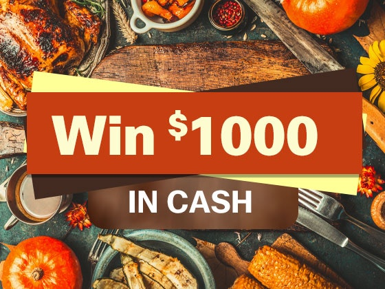 1000 cash giveaway november 2016 1