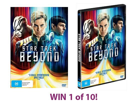 Star Trek Beyond DVD sweepstakes