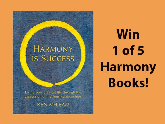 Harmony is Success Book sweepstakes