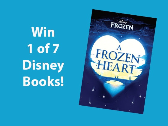 A Frozen Heart Disney Books sweepstakes