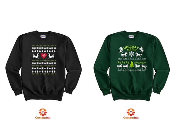 Customink christmas sweater giveaway